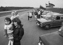 1989. Baltijos kelias. Požerskis (1)