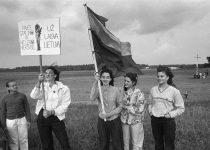 1989. Baltijos kelias. Požerskis (2)