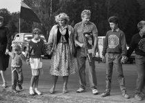 1989. Baltijos kelias. Požerskis (6)